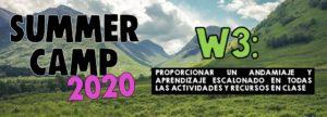 Lee más sobre el artículo SUMMER CAMP – Week 3
