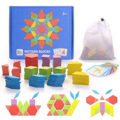 Montesori Tangram Pattern blocks