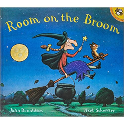 Room on the Broom libro lecturas aula
