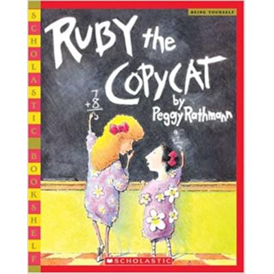 Ruby the copycat libro lecturas aula