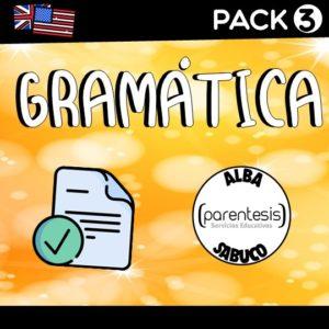 Pack 3 – Gramática