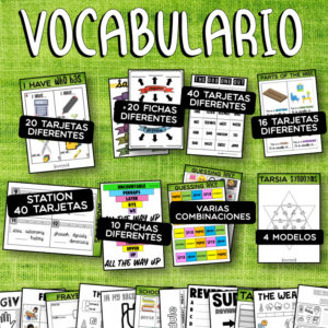 Pack 5 – Vocabulario