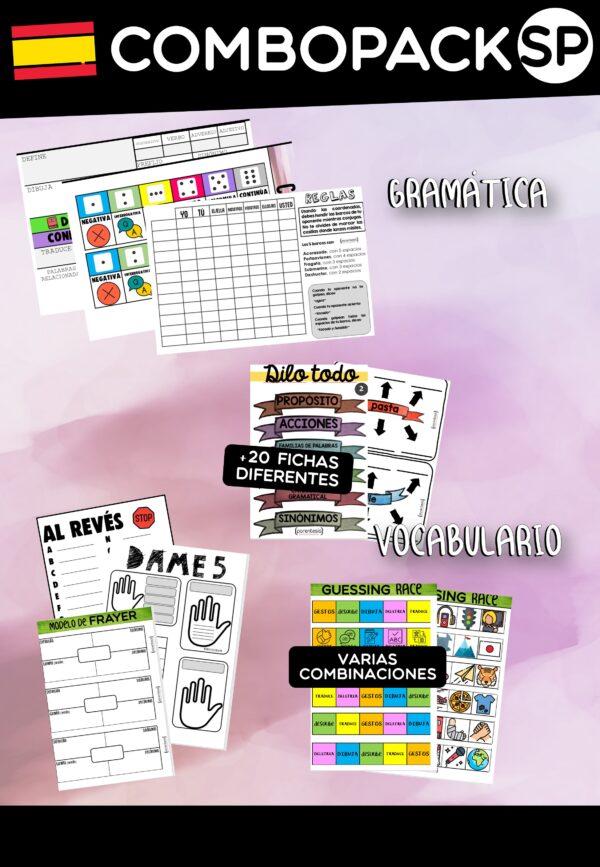 Pack de recursos en español Parentesis