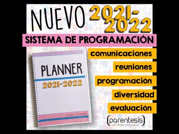 Planificador de clases Parentesis educacion