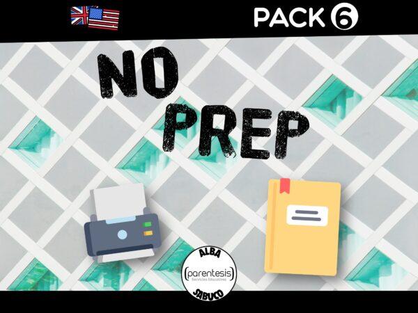 Parentesis - Pack 6 - No Prep