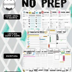 Pack 6 – No Prep