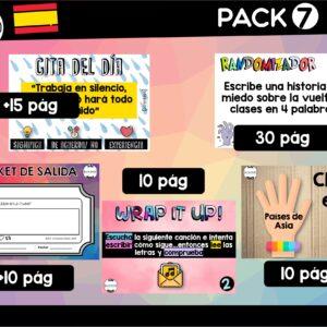 Pack 7 – Prime Time – Español