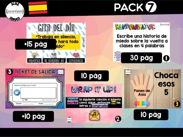 Parentesis - Pack 7 - Prime-Time